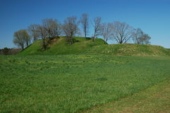 Etawah Mounds Royalty Free Stock Photography