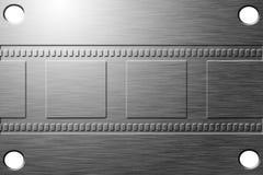 Etched filmar remsan vektor illustrationer