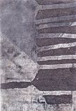 Etching. Metallic surface, abstract art, detail Stock Images