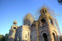 Etchmiadzin Cathedral church. Vagharshapat Royalty Free Stock Image
