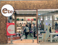 Ete shop in hong kong Royalty Free Stock Photos
