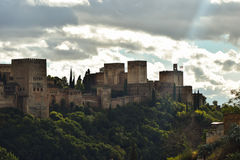 Eternal beauty of Alhambra Royalty Free Stock Photos