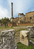 Eternal city - ancient Rome Stock Photography