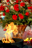 Eternal fire. Monument in honor Victory Day royalty free stock image