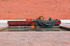 Eternal fire in memory of victims in the world war - Kremlin - M Stock Photos