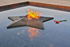 Eternal flame Stock Photos