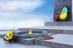 Eternal flame Royalty Free Stock Photos