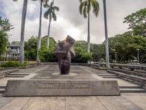 Eternal Flame on August 6, 2016 inn Honolulu Hawaii Stock Images