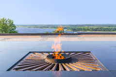 Eternal flame royalty free stock photo