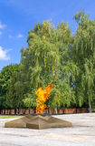 Eternal flame royalty free stock photography