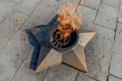 Eternal flame. Royalty Free Stock Photos