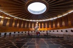 Eternal flame of Mamayev Kurgal Memorial complex, Volgograd Royalty Free Stock Photography