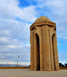 The Eternal Flame memorial at Martyrs` lane, Baku Royalty Free Stock Photography