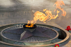 Eternal Flame. Stock Image