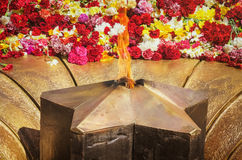 The Eternal Flame Stock Images