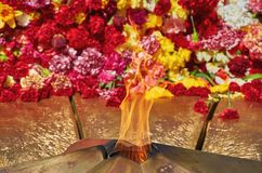 The Eternal Flame Royalty Free Stock Photos