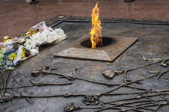 Eternal flame Stock Image