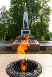 Eternal Flame monument Stock Photos