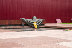 Eternal Flame monument Royalty Free Stock Photography