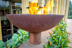 Eternal Flame Monument to freedom of expression in Stock Photography