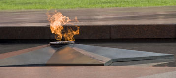 Eternal flame, Moscow Royalty Free Stock Photo