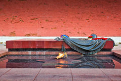 Eternal flame in Moscow, Russia Stock Photos