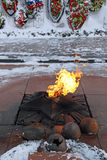 Eternal flame Stock Images