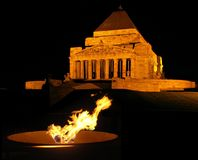 Eternal Flame at the Shrine royalty free stock image