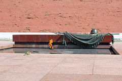 Eternal Flame, Tomb Of The Unknown Soldier to Royalty Free Stock Images