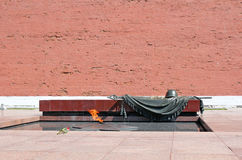 Eternal Flame, Tomb Of The Unknown Soldier Stock Photo