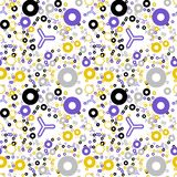 Eternal fraction creative pattern. Digital design for print, fabric, fashion or presentation Stock Photos