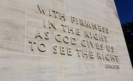Eternal light peace memorial quote Stock Photography