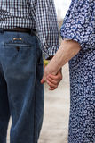 Eternal love. An act of love that lasts forever ... holding hands Stock Images