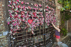 Eternal Love Wall Stock Photos