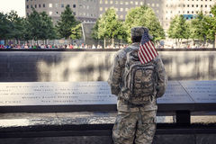 Eternal Memory to 9/11 victums Stock Image