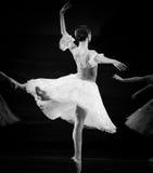 The eternal moment. In December 22, 2013 the ballet Swan Lake Ukraine Kiev Grand Theatre ballet in Jiangxi Nanchang Stock Photos