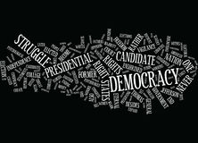 Eternal Vigilance To Protect Democracy Wc Text Background Word Cloud Concept Royalty Free Stock Photography