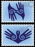 Eternidad de la postal. libre illustration