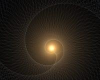 Eternidad, vórtice del tiempo Foto de archivo libre de regalías