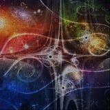 Eternità nello spazio illustrazione vettoriale