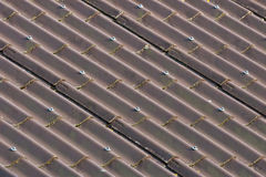 eternit屋顶 免版税库存图片
