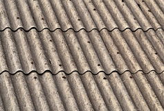 Eternit roof Royalty Free Stock Photography