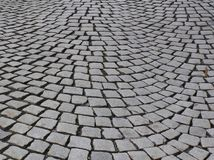 Eternity. Ancient stone streets of European cities of Bergen Norway Royalty Free Stock Image