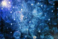 Eteryczny błękitny bokeh tło Zdjęcie Stock