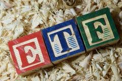 ETF imagenes de archivo