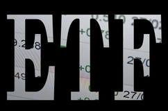 ETF Immagini Stock Libere da Diritti