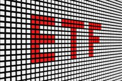 ETF Fotos de Stock Royalty Free
