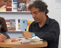 Etgar Keret book signing Royalty Free Stock Images