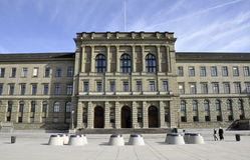 eth πανεπιστημιακή Ζυρίχη Στοκ Εικόνες