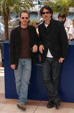Ethan Coen,Joel Coen. Joel & Ethan Coen at photocall for their movie No Country for Old Men at the 60th Annual International Film Festival de Cannes.  May 19 Royalty Free Stock Photo